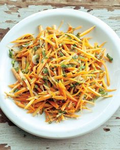 Carrot Salad with Parsley and Spring Onions Recipe