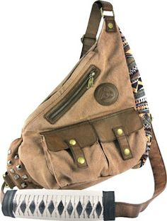 Grab Michonne's sling bag to round out your cosplay look