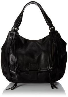 Kooba Handbags Jonnie Shoulder Bag, Black, One Size