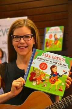 Too damn cute.and smart. Lisa Loeb, Sterling Publishing, Hey Girl, Her Music, Holiday Gift Guide, Celebrity Crush, Savannah Chat, Childrens Books, Nerdy