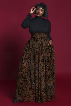 Plus Size Holiday Style- The 2018 Jibri Holiday Collection - Plus Size Skirts - Ideas of Plus Size Skirts Plus Size Maxi, Plus Size Skirts, Plus Size Jeans, Plus Size Outfits, Plus Size Jumpsuit, Fat Girl Fashion, Fashion Looks, Curvy Fashion, Women's Fashion