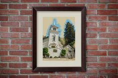 Printable Paper Art - Occidental Church Sonoma County California, Printable Art Decor by MDSPrintableArt   5.00 USD  What do you receive? An 8x10 inch printable INSTANT DOWNLOAD art print. (This is a digital file, no physical print will be mailed.)  How does this work? When you purchase this listing, Etsy will immediately provide you with a link to your download. All you have to do is click on the link and download the file to your computer! It's that easy.  All of our images
