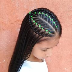 Black Baby Hairstyles, Mexican Hairstyles, Flower Girl Hairstyles, Little Girl Hairstyles, Braided Ponytail Hairstyles, Baddie Hairstyles, Girl Hair Dos, Curly Hair Styles, Natural Hair Styles