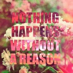 And sometimes that reason is me being stupid and not thinking before I do something...