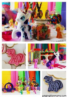 My Little Pony Themed Party Lolly Table! Plenty of hints & tips to help your next party become a hit!