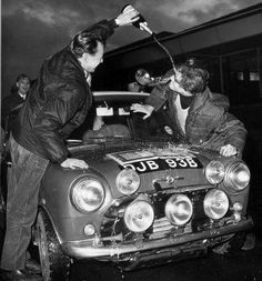 DJB 93 B .1275 Cooper S . The only Cooper to win an RAC Rally .won the 1965 RAC driven by R. Aaltonen / A. Ambrose .. Then went on to win the 1966 Scottish in the hands of Tony Fall / Mike Wood.
