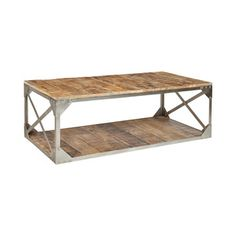 Hatch Coffee Table | Dot & Bo | Industrial Coffee Table | Workspace Decor | Home Decor | Industrial Loft Deocr