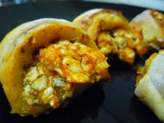 Spicy Buffalo Chicken & Bleu CheeseRoll-ups - Cooking with Mel - Cooking with Mel 8PP