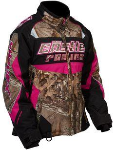 Women's Bolt G2 SE Realtree Jacket • Castle X Snow Gear