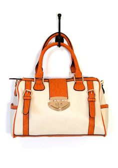 Apricot Like-A-Lot Barrel Bag - $49.99 : Spotted Moth, Chic and sweet clothing and accessories for women