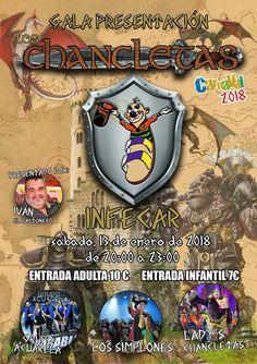 Grupo Mascarada Carnaval: Gala presentación Los Chancletas 2018