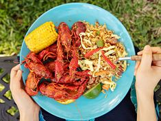 cajun dishes Houston-born writer Dan Q. Dao shared his aunt Vans recipe for this rich, intensely flavored fried rice made with andouille sausage, crawfish, Cajun seasoning, and plenty of Crawfish Boil Seasoning, Cajun Crawfish, Cajun Fries, Rice Recipes, Seafood Recipes, Seafood Boil, Cajun Recipes, Vegetable Recipes, How To Cook Sausage