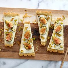 fig mascarpone tart with pistachio black pepper crust fig mascarpone ...