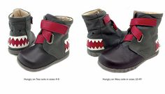 These are just funny... Livie and Luca Hungry Boot Gray