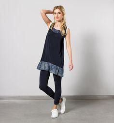 Legging Cyan et la robe Cobalt du thème Blue Ink !