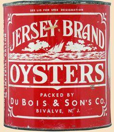 Jersey Brand Oyster Tin - Bivalve, NJ