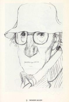 Woody Allen / Tullio Pericoli