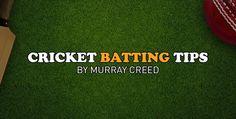 #Cricket Batting Tips by MurrayCreed | CoachTube