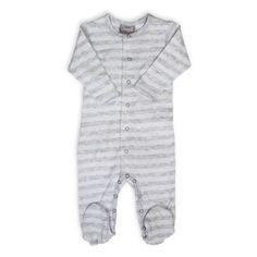 5f6c44d2ecb3 Coccoli Foulard & Tweed Footie in Grey - www.buybuyBaby.com Baby On