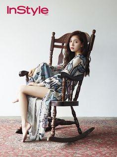 Baek Jin Hee in 'InStyle' August 2014