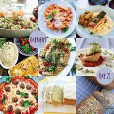 Ukemeny for uke 21 Penne, 21st, Mexican, Ethnic Recipes, Food, Essen, Meals, Yemek, Pens