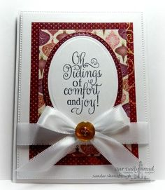 Our Daily Bread Designs Stamp set: Christmas Carols, Our Daily Bread Designs Paper Collection:Christmas 2015, Our Daily Bread Designs Custom Dies: Flourished Star Pattern, Ovals, Stitched Ovals