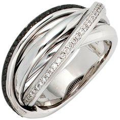 Damen-Ring 60 Diamant-Brillanten 14 Karat (585) Weißgold 0.30 ct. 56 (17.8) Dreambase, http://www.amazon.de/dp/B00AEEE4DG/ref=cm_sw_r_pi_dp_lqmjtb1XCBWG4