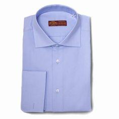 Camisa espiga azul celeste