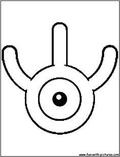 Unown W Coloring Page Pokemon Coloring Pages, Colouring Pages, Pokemon Sketch, Coloring Stuff, When Im Bored, Pokemon Fan, Thank You Gifts, Alphabet, Symbols