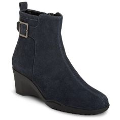 Women's Aerosoles Entorage - Dark Blue Suede