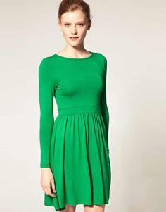 Lovely tunic dress via @Sally McGraw