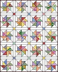 Love this quilt block pattern. Pinwheel 8 at Quilters Cache. is creative inspiration for us. Get more photo about diy home decor related with by looking at photos gallery at the bottom of this page. We are want to say thanks if you like to share this post to another …