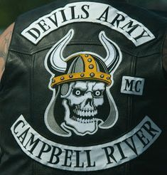 Gangsterism Out : Devils Army MC president Alexander charged with murder - Update Biker Clubs, Motorcycle Clubs, Mc Logo, Aston Martin Db5, Harley Davison, Angel Pictures, Punk, Devil, Army