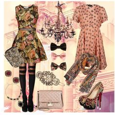 """""""Baroque Doll"""" by erin-bartholomew on Polyvore"""