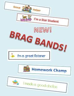FREE!!!! print and cut classroom management bracelets! Plus it is an easy communicator to parents about the good things their child is doing in class!