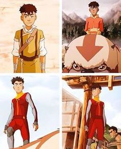 """Kai, he looks like he could be Korra's half little brother and Opal looks like she could be her half little sister."" I kind of agree.  I see the similarities."