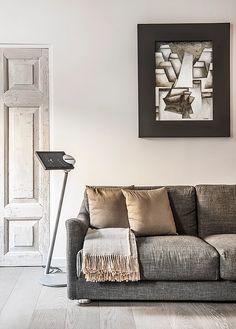 BRANDO concept  | grey sofa colori neutri interior design arredi