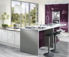 Kitchens at MGM Timber Kitchens are now a very important part of our product portfolio and for this reason we have Read Timber Kitchen, New Kitchen, Interior Design Kitchen, Color Pop, Color Azul, Architecture Design, Sweet Home, New Homes, Kitchen Cabinets