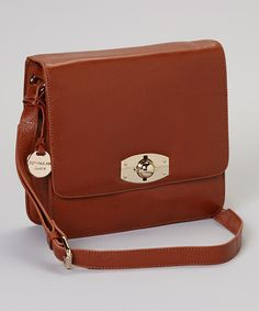 Take a look at this Chestnut Bailey Crossbody Bag by Rowallan on #zulily today! $100 !!