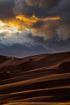 Great Sand Dunes National Park and Preserve, Colorado; photo by Phillip Noll
