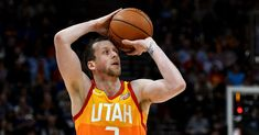 Joe Ingles showed the world who the best player on the court was Tuesday night in Utah, with a dazzling display. Jazz Basketball, Nba Golden State Warriors, Live Channels, All That Jazz, Utah Jazz, Nba Players, Best Player, Olympics, Assassin