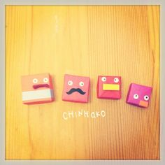 なかのひとたち。#chinhako #origami - @chinhako- #webstagram