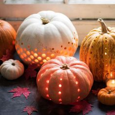 Spots Of Light - These Creatively Decorated Pumpkins Are Life - Photos