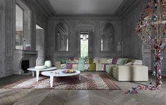 Roche Bobois Rythme Modula Sofa from collection les contemporains. I have fallen in love!