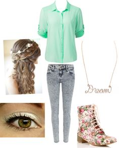 """""""Dream"""" by mrsharrystyles4334 ❤ liked on Polyvore"""
