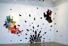 Валечка — «Абстрактные вязаные картины Valerie Molnar» на Яндекс.Фотках