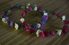DIY Tutorial: Flowers / DIY flower crown tutorial - BeadCord