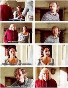 The funniest thing about this was that Merlin WAS trying to kill him. But because it was *Merlin* Leon (Mr. always-take-threats-seriously) thought he was kidding. Because nobody believed Merlin would hurt Arthur Benedict Sherlock, Benedict Cumberbatch, Colin Morgan, Merlin Memes, Merlin Funny, Merlin Quotes, Merlin Merlin, Sherlock Quotes, Bradley James