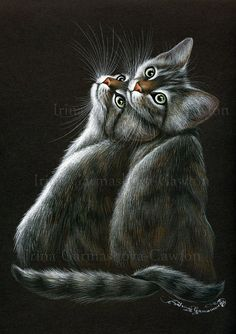 Twins by: Irina Garmashova-Cawton