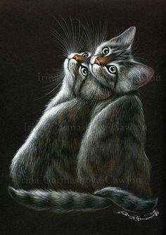 Twins by: Irina Garmashova-Cawton